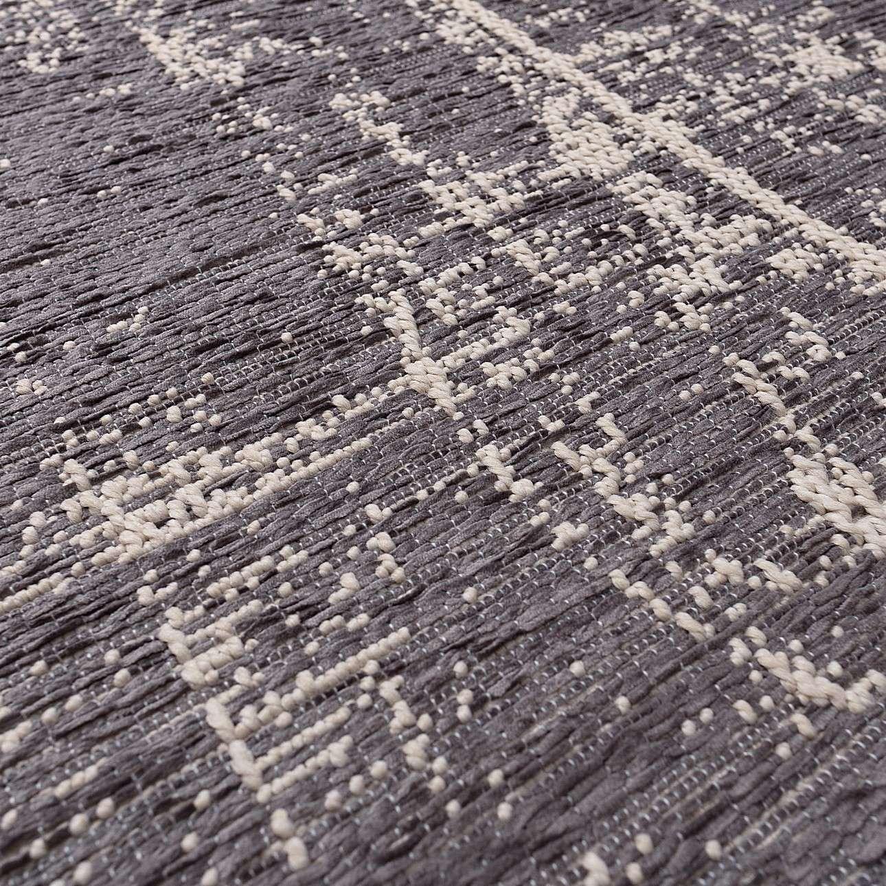 Dywan Velvet wool/dark grey 200x290cm