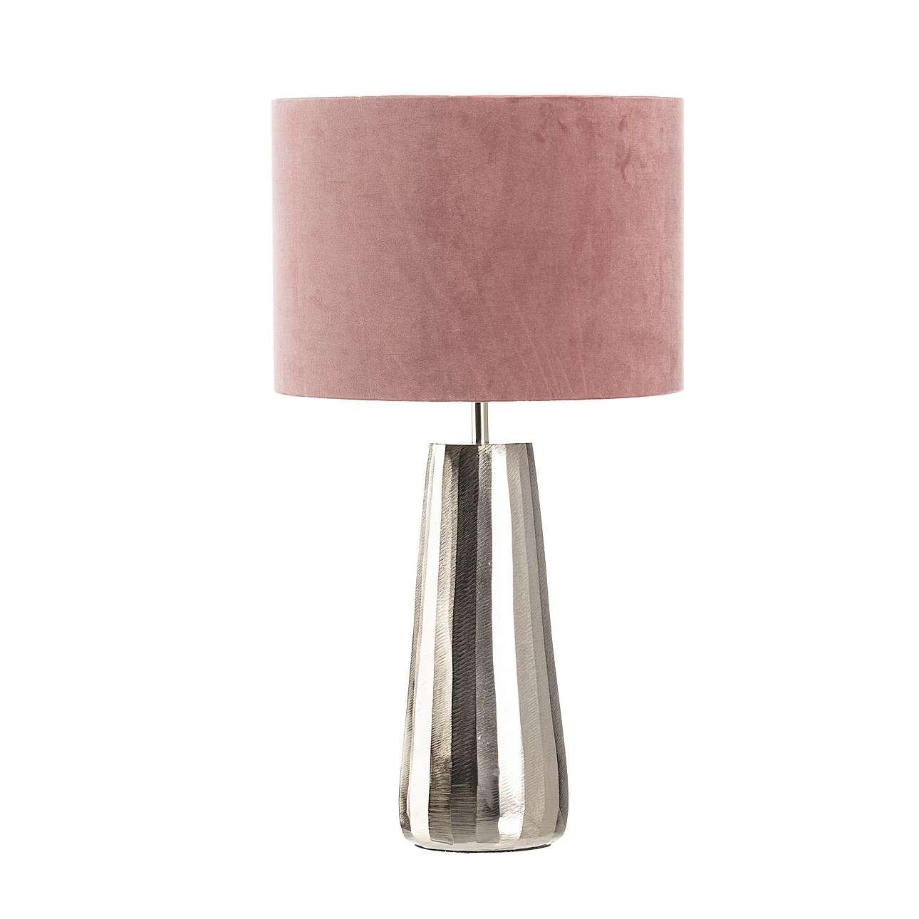 Tischlampe Saley Pink 55 cm