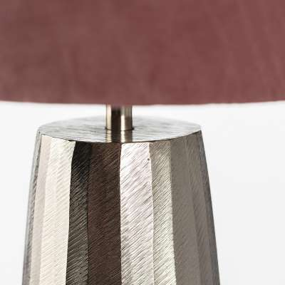 Stolní lampa Saley Pink výška 55 cm