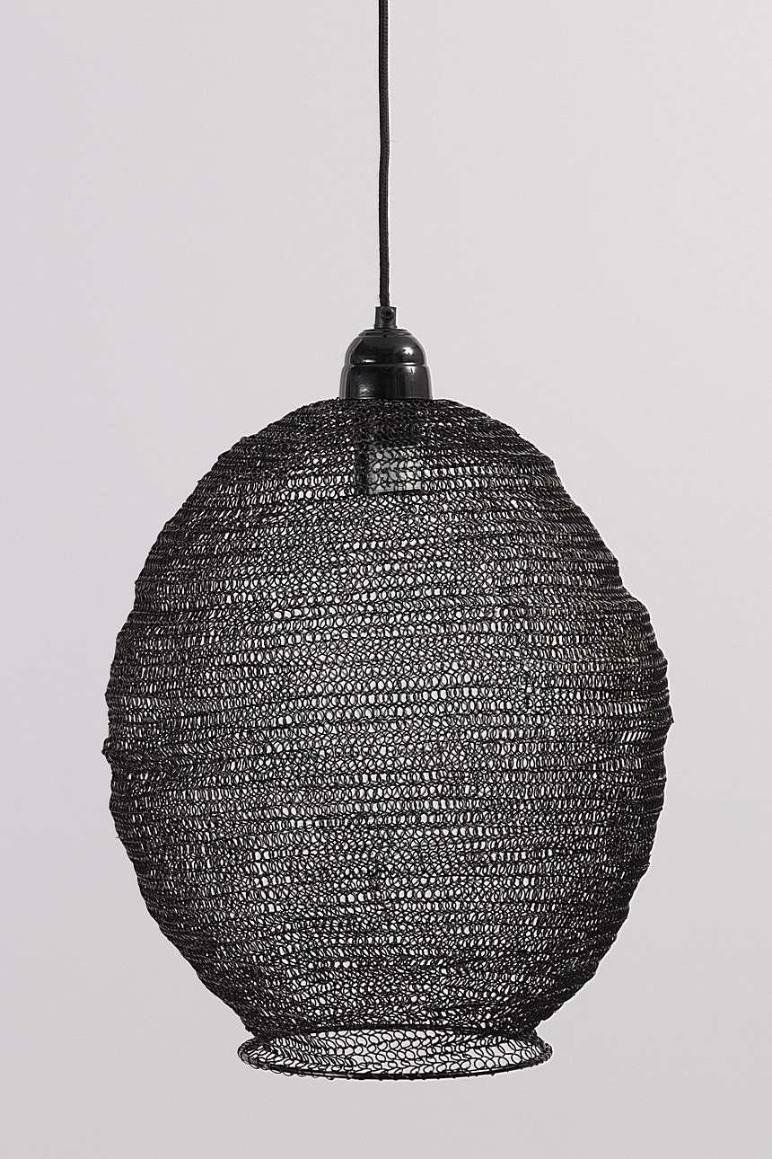 Dekoria Lampa wisząca Nina Black 48 cm