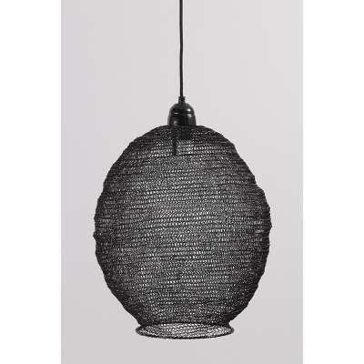 Pakabinamas šviestuvas Nina Black 48 cm Pakabinami šviestuvai - Dekoria.lt