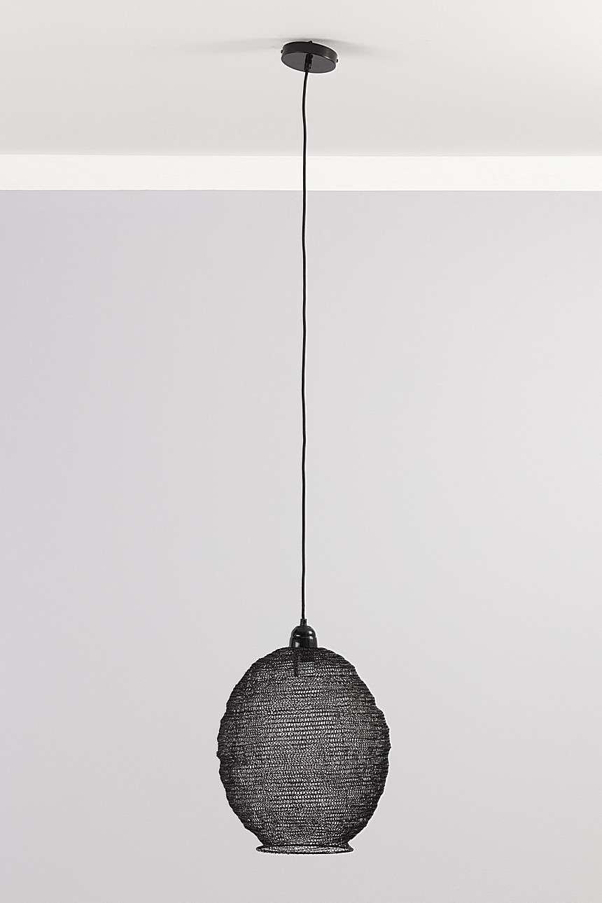 Lampa wisząca Nina Black 48 cm