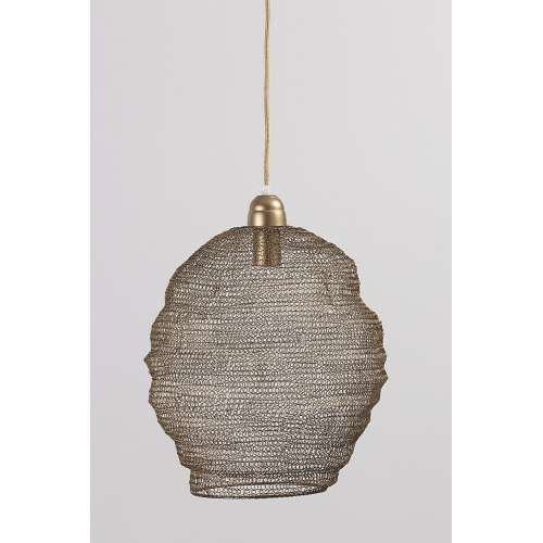 Dekoria Lampa wisząca Nina Brown 42 cm