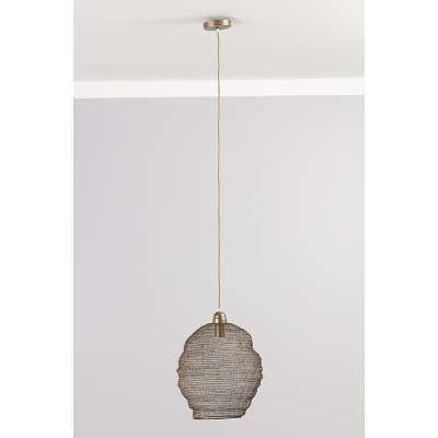 Lampa wisząca Nina Brown 42 cm