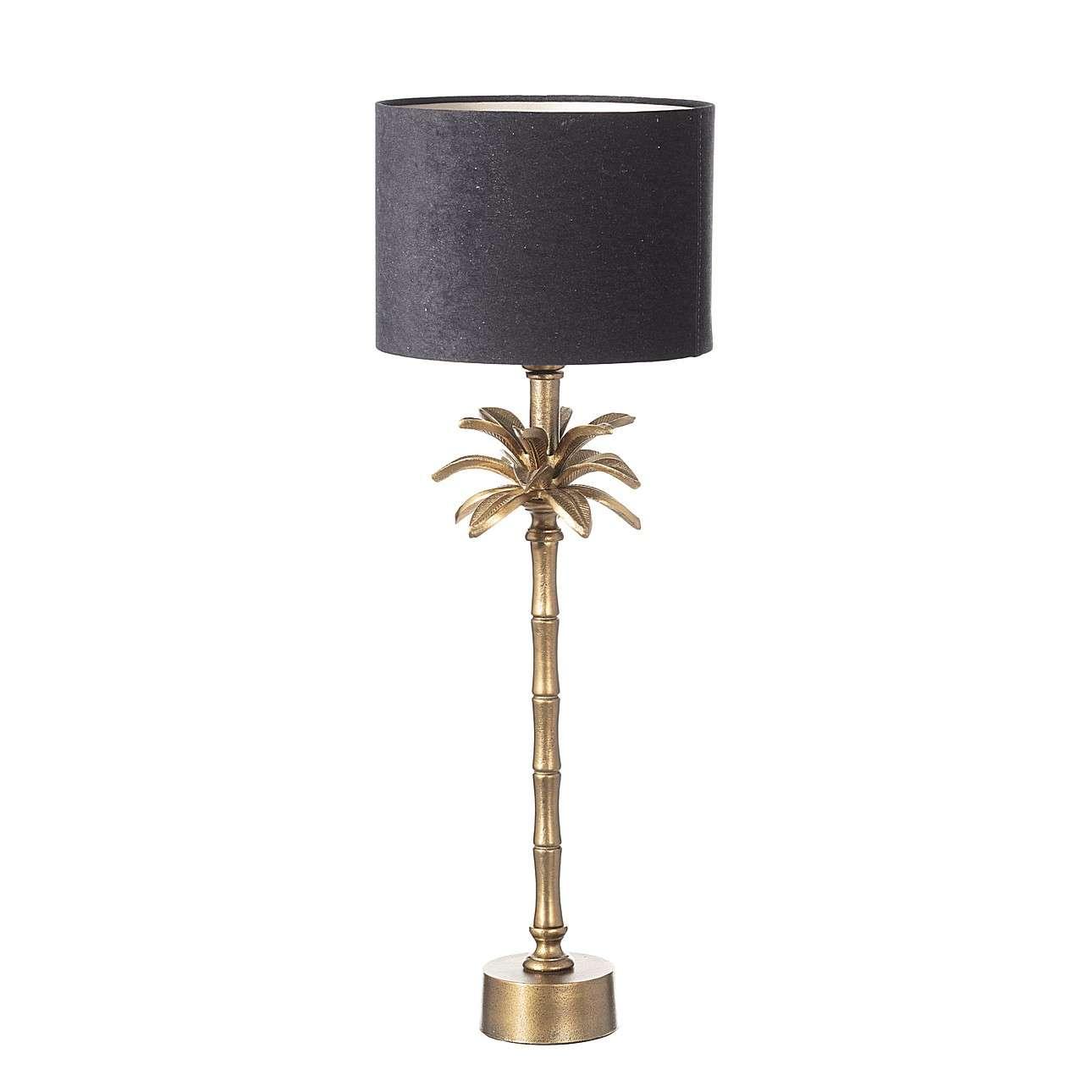 Vyšší stolní lampa Tropical Glam výška 70,5 cm