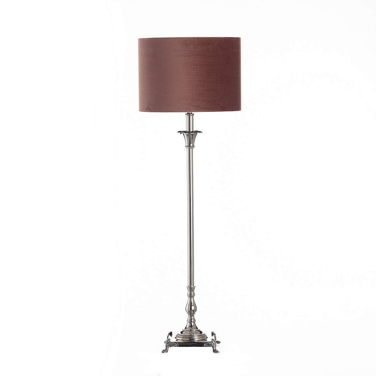 Vyšší stolní lampa Beth výška 91,5 cm