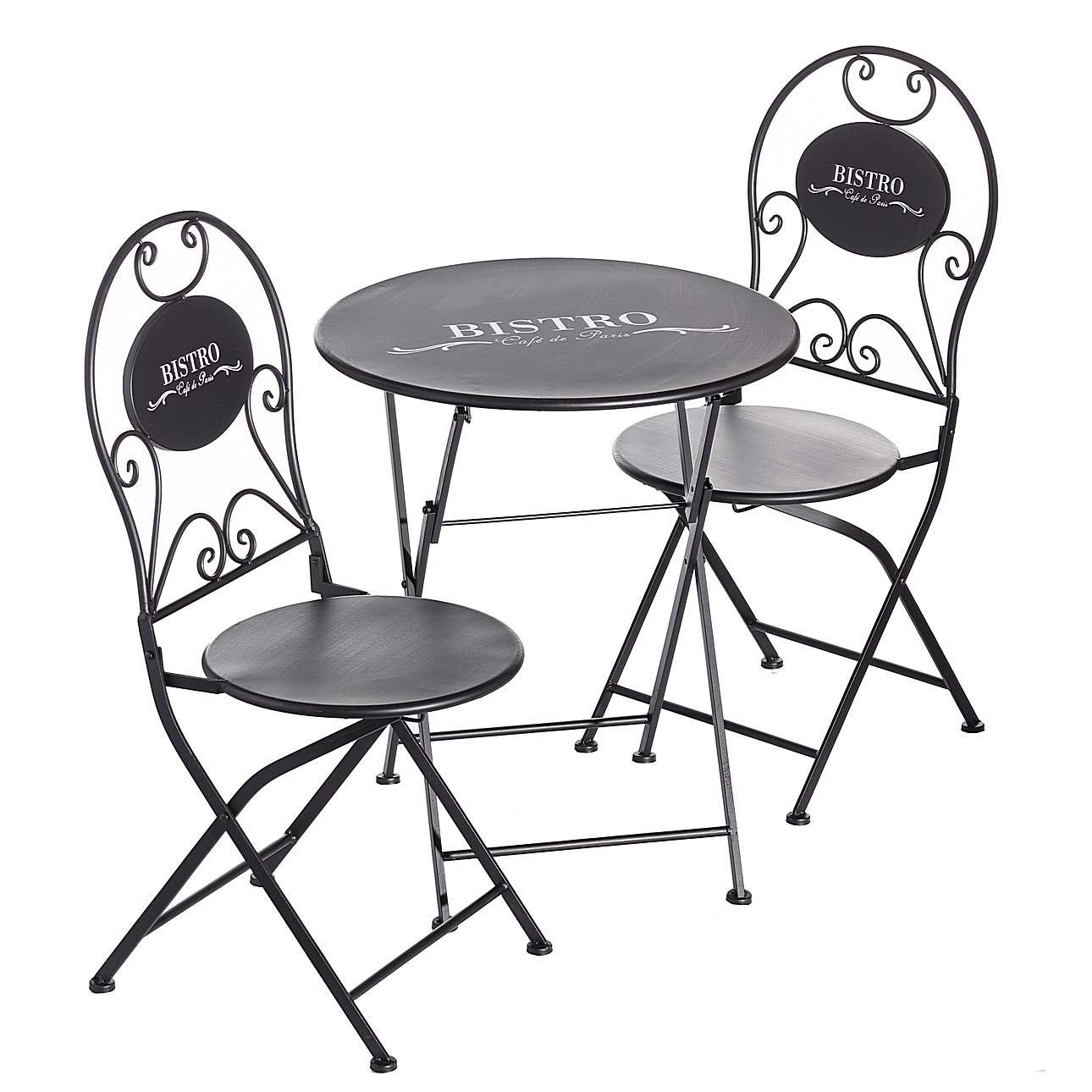 Dekoria Zestaw ogrodowy Bistro stolik + 2 krzesła