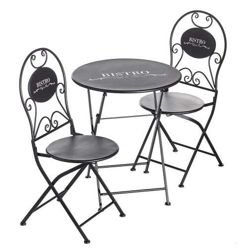 Zahradní nábytek sada Bistro - stolek + 2 židle