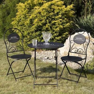 Zestaw ogrodowy Bistro stolik + 2 krzesła