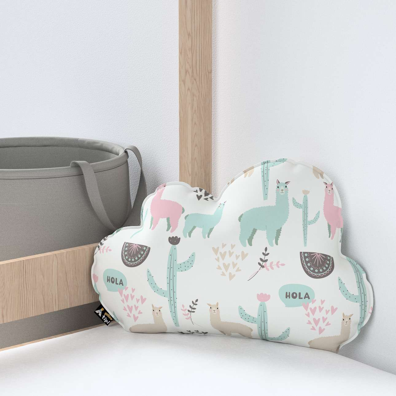 Soft Cloud pillow in collection Magic Collection, fabric: 500-01