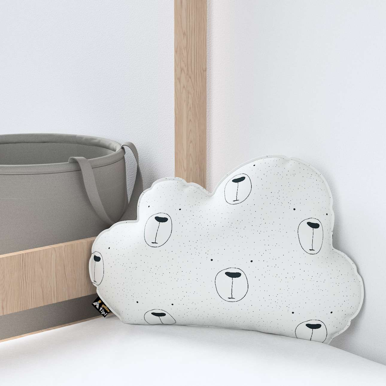 Soft Cloud pillow in collection Magic Collection, fabric: 500-06
