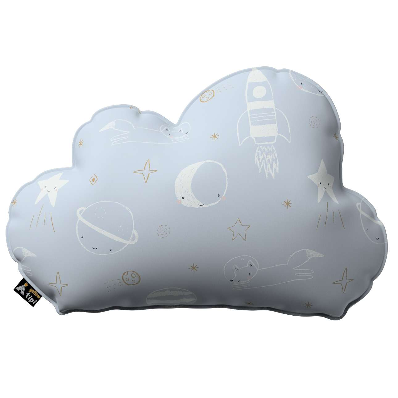 Soft Cloud pillow in collection Magic Collection, fabric: 500-16