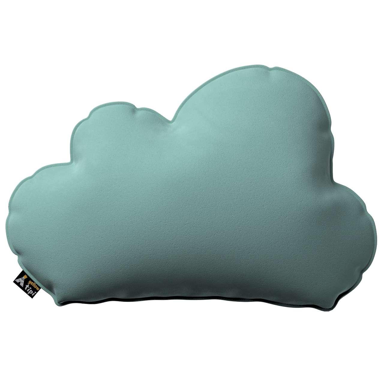 Kissen Soft Cloud von der Kollektion Posh Velvet, Stoff: 704-18