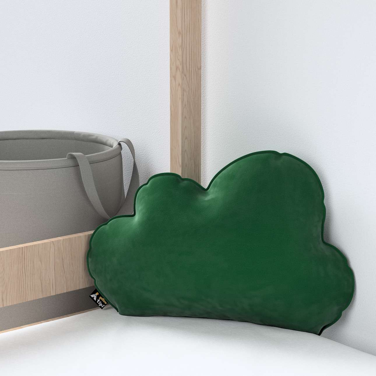Soft Cloud pagalvėlė kolekcijoje Posh Velvet, audinys: 704-13