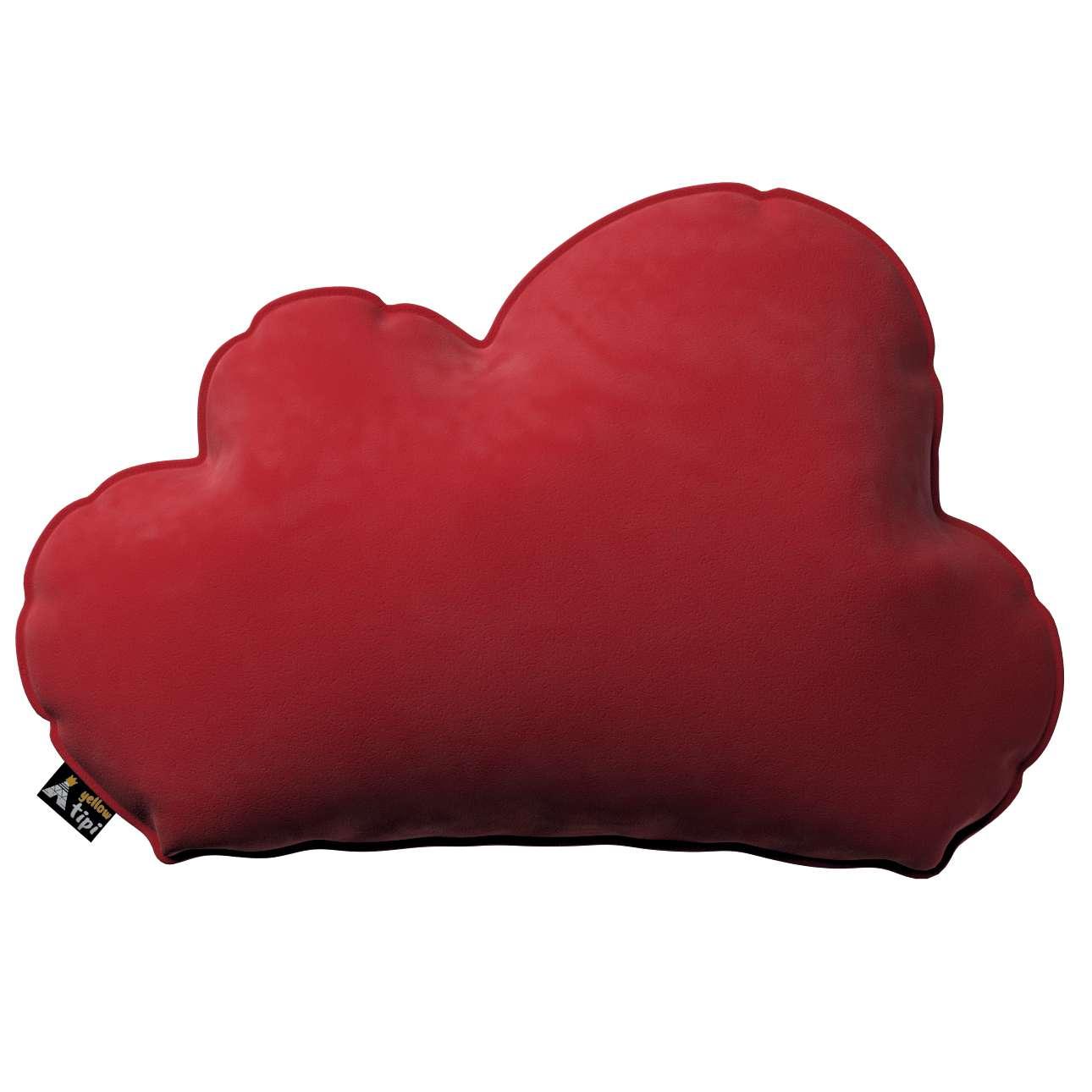 Kissen Soft Cloud von der Kollektion Posh Velvet, Stoff: 704-15