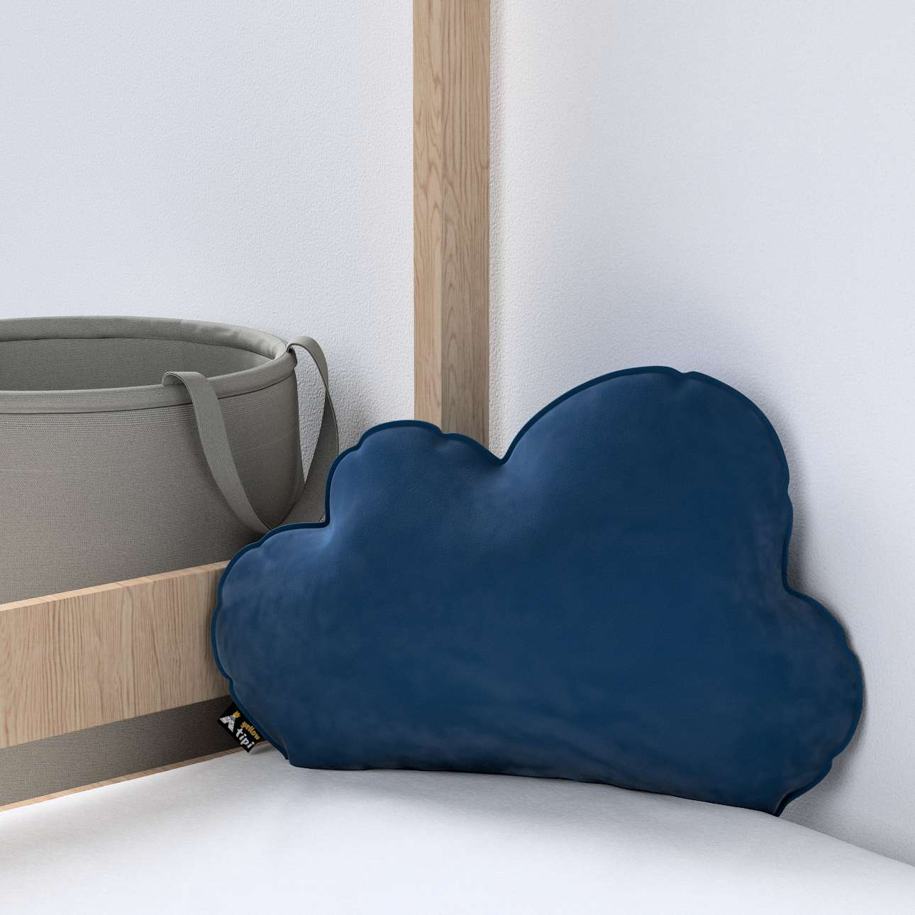 Soft Cloud pagalvėlė kolekcijoje Posh Velvet, audinys: 704-29
