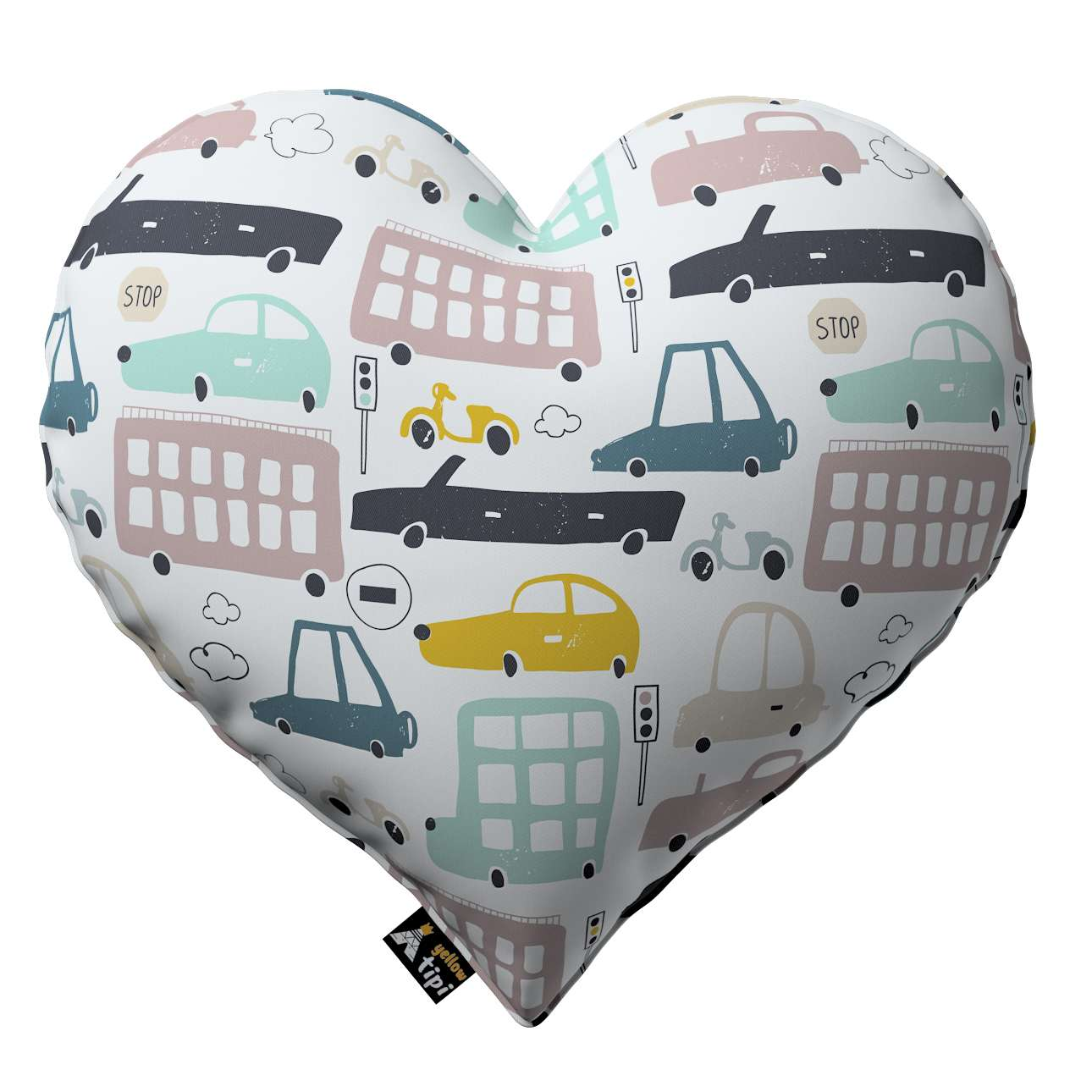 Heart of Love pillow in collection Magic Collection, fabric: 500-02