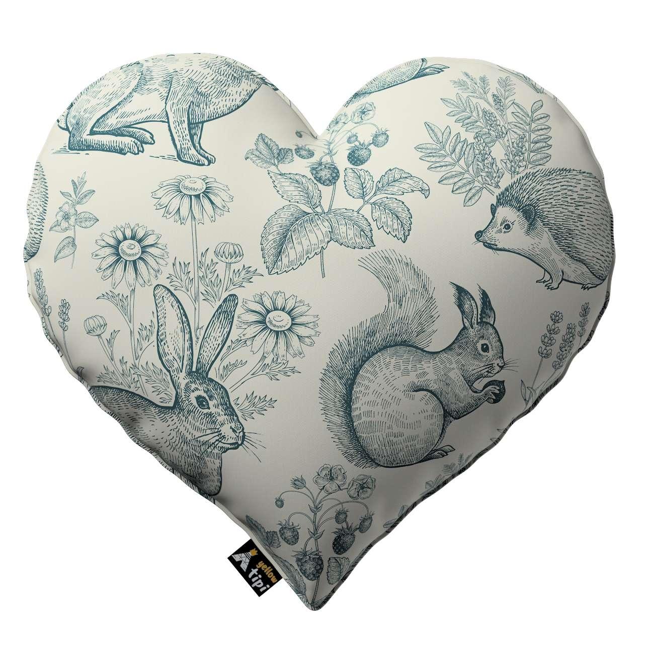 Kissen Heart of Love von der Kollektion Magic Collection, Stoff: 500-04