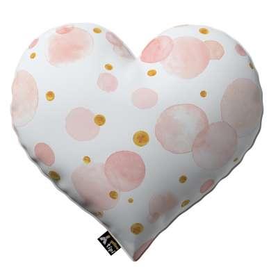 Kissen Heart of Love von der Kollektion Magic Collection, Stoff: 500-13