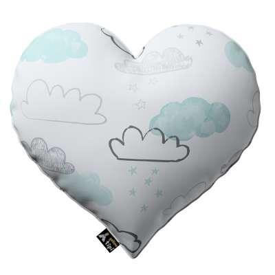 Kissen Heart of Love von der Kollektion Magic Collection, Stoff: 500-14