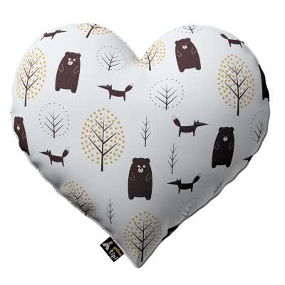 Heart of Love pillow in collection Magic Collection, fabric: 500-19