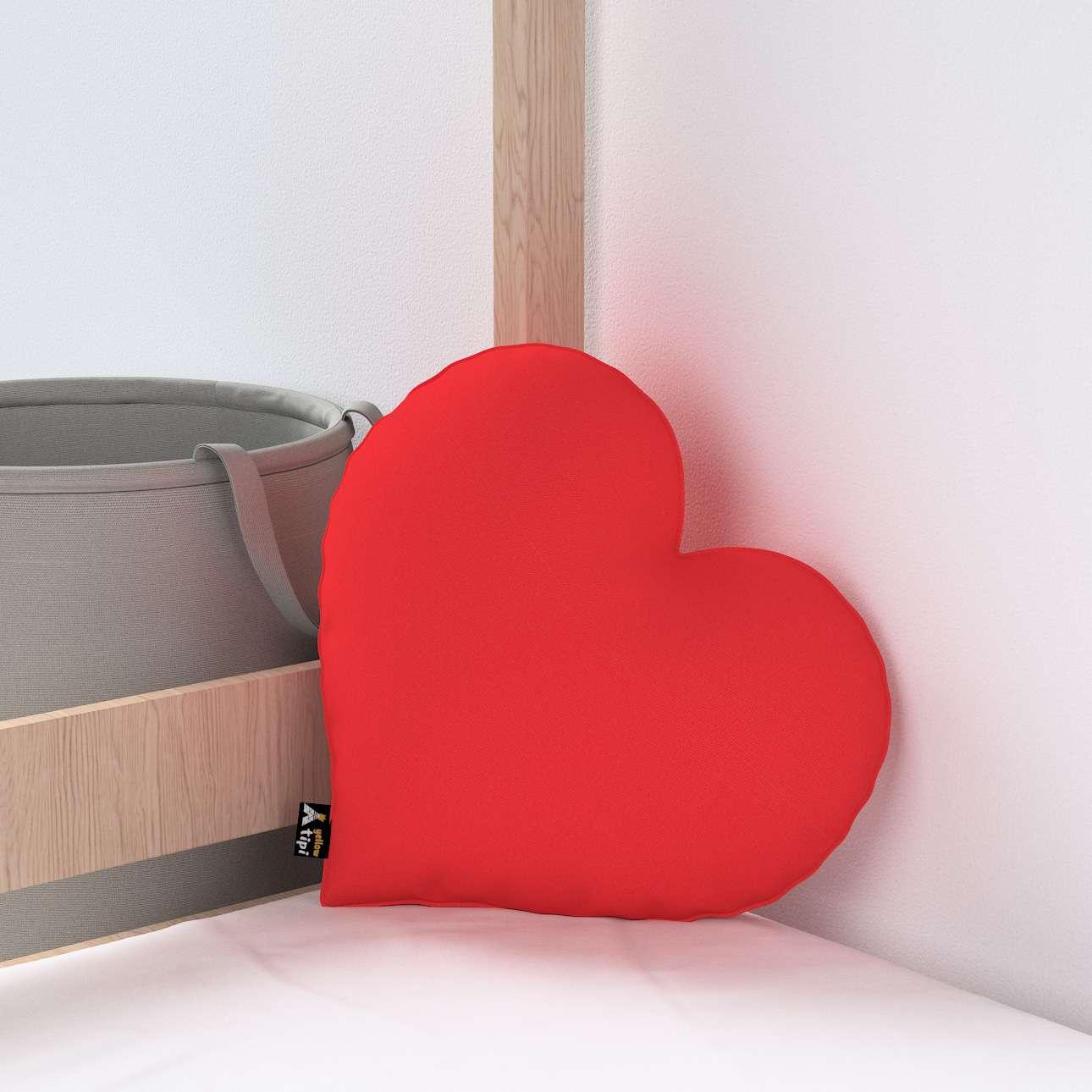 Kissen Heart of Love von der Kollektion Happiness, Stoff: 133-43