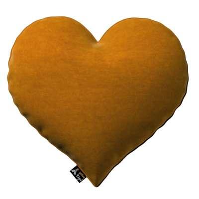 Kissen Heart of Love von der Kollektion Posh Velvet, Stoff: 704-23