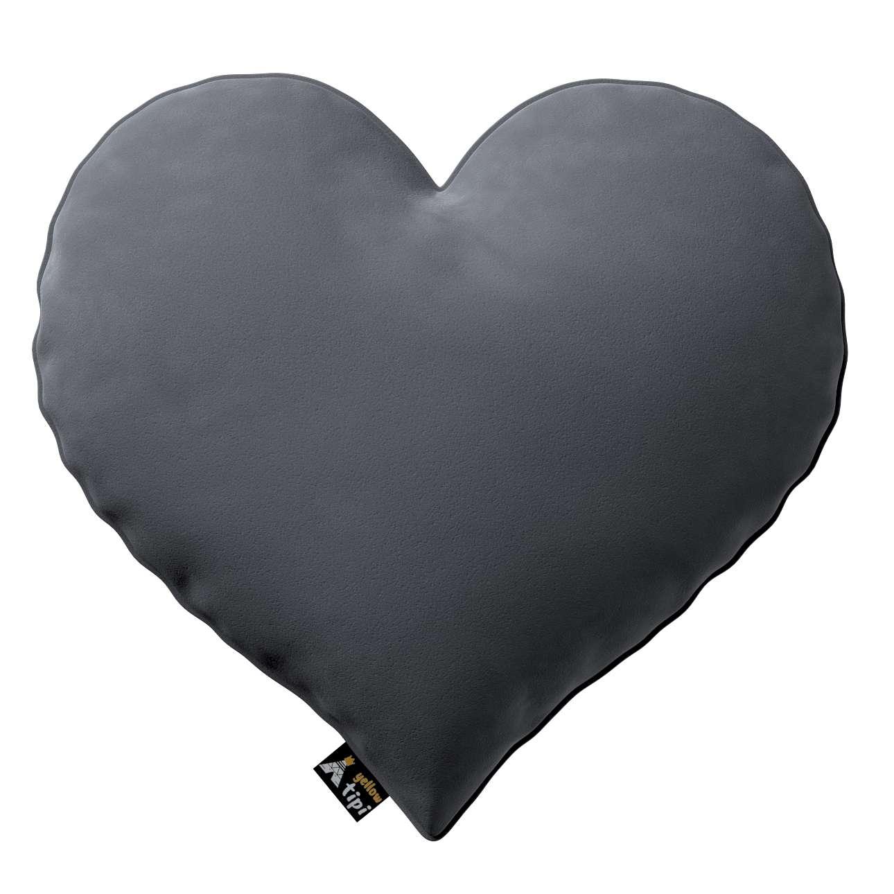 Heart of Love pagalvėlė kolekcijoje Posh Velvet, audinys: 704-12