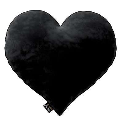 Heart of Love pagalvėlė 704-17 juoda Kolekcija Posh Velvet