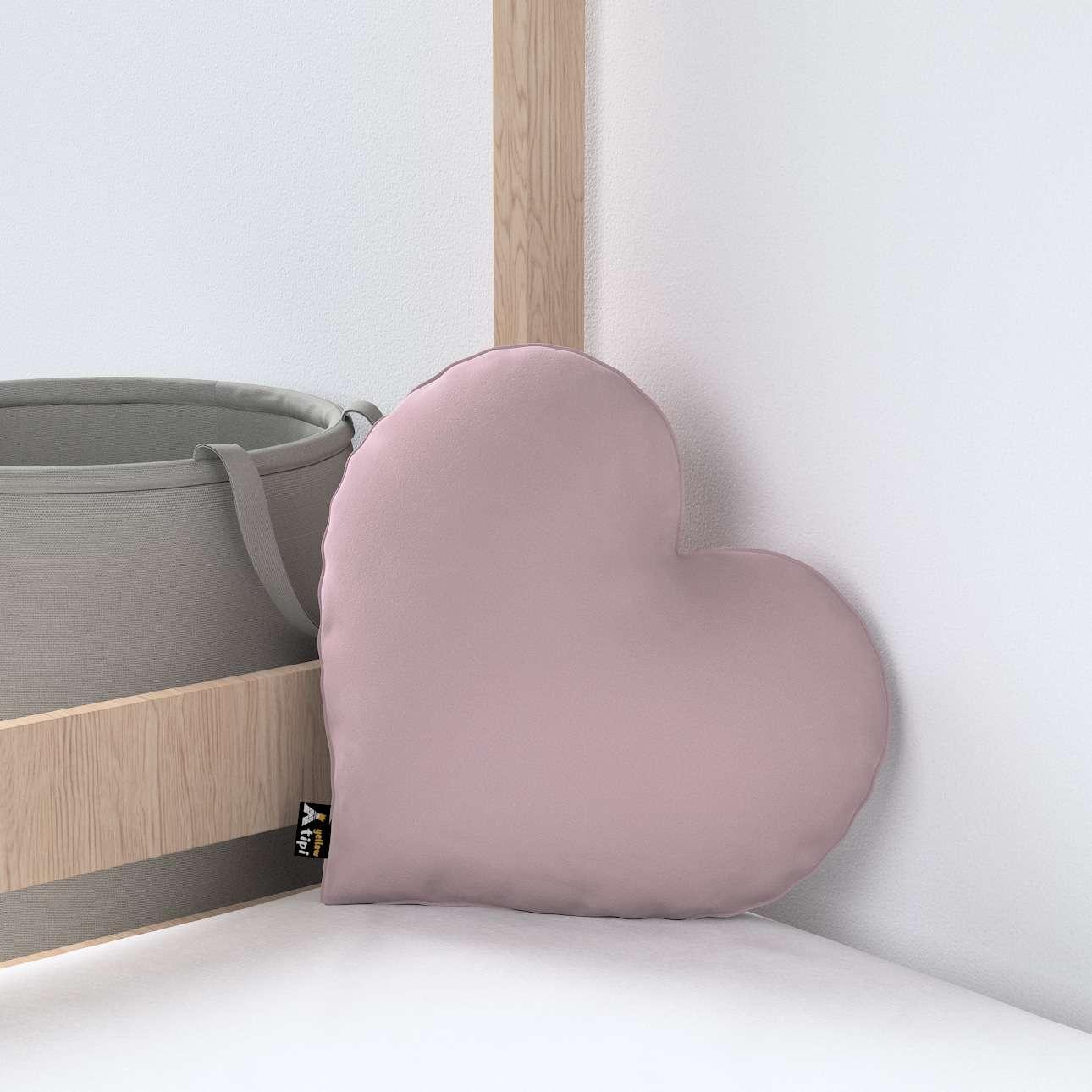 Heart of Love pagalvėlė kolekcijoje Posh Velvet, audinys: 704-14