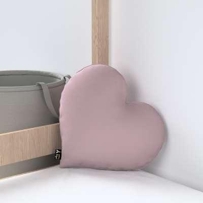 Kissen Heart of Love von der Kollektion Posh Velvet, Stoff: 704-14