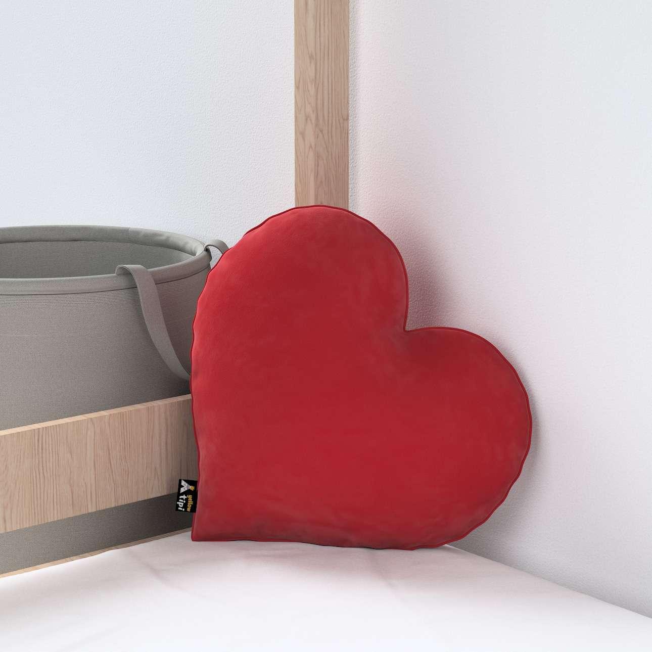 Heart of Love pagalvėlė kolekcijoje Posh Velvet, audinys: 704-15