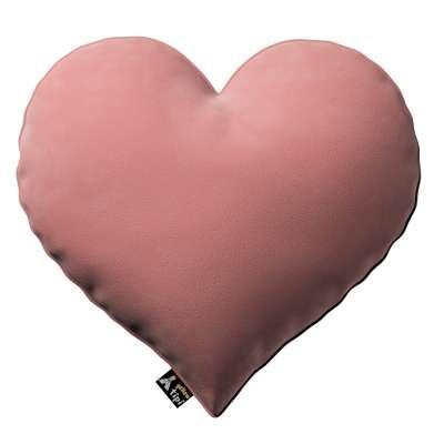 Poduszka Heart of Love 704-30 zgaszony koral Kolekcja Posh Velvet