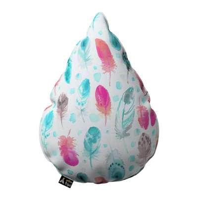 Poduszka Sweet Drop 500-17 różowe i turkusowe piórka Kolekcja Magic Collection