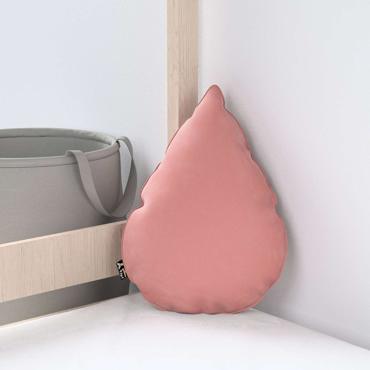 Sweet Drop pagalvėlė kolekcijoje Posh Velvet, audinys: 704-30