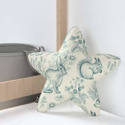 Kissen Lucky Star von der Kollektion Magic Collection, Stoff: 500-04