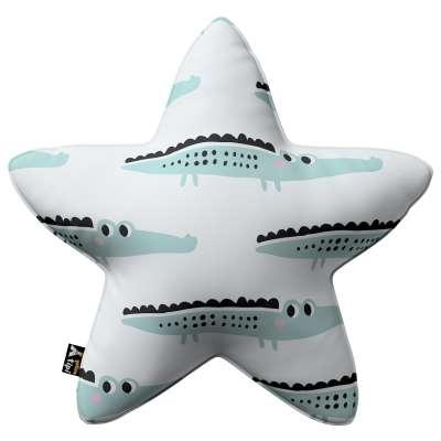 Kissen Lucky Star von der Kollektion Magic Collection, Stoff: 500-11