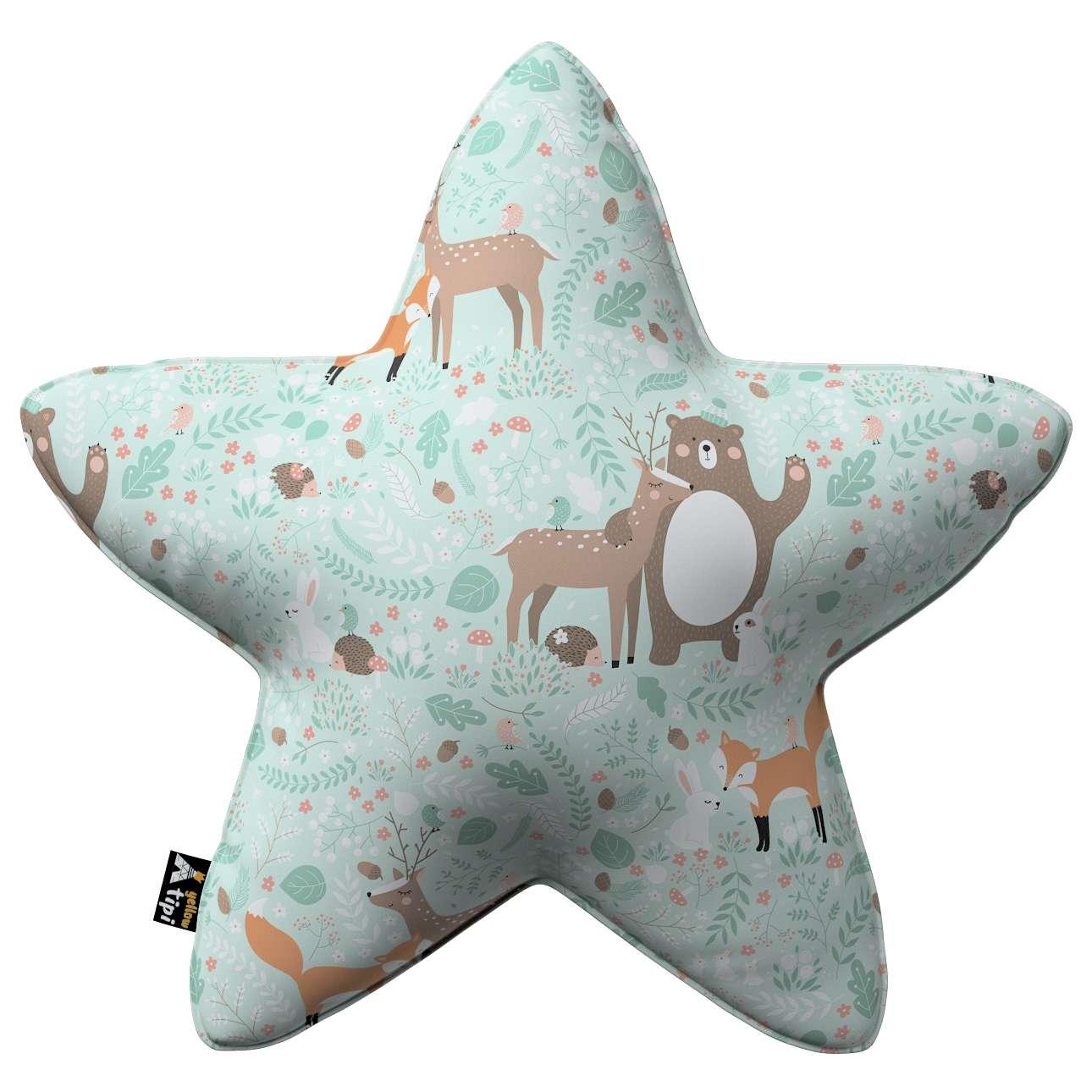 Kissen Lucky Star von der Kollektion Magic Collection, Stoff: 500-15