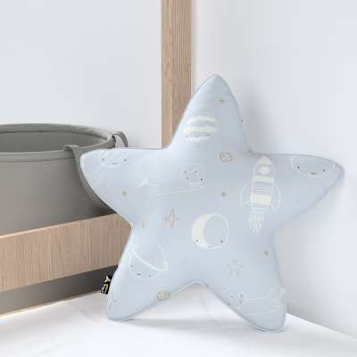 Kissen Lucky Star von der Kollektion Magic Collection, Stoff: 500-16