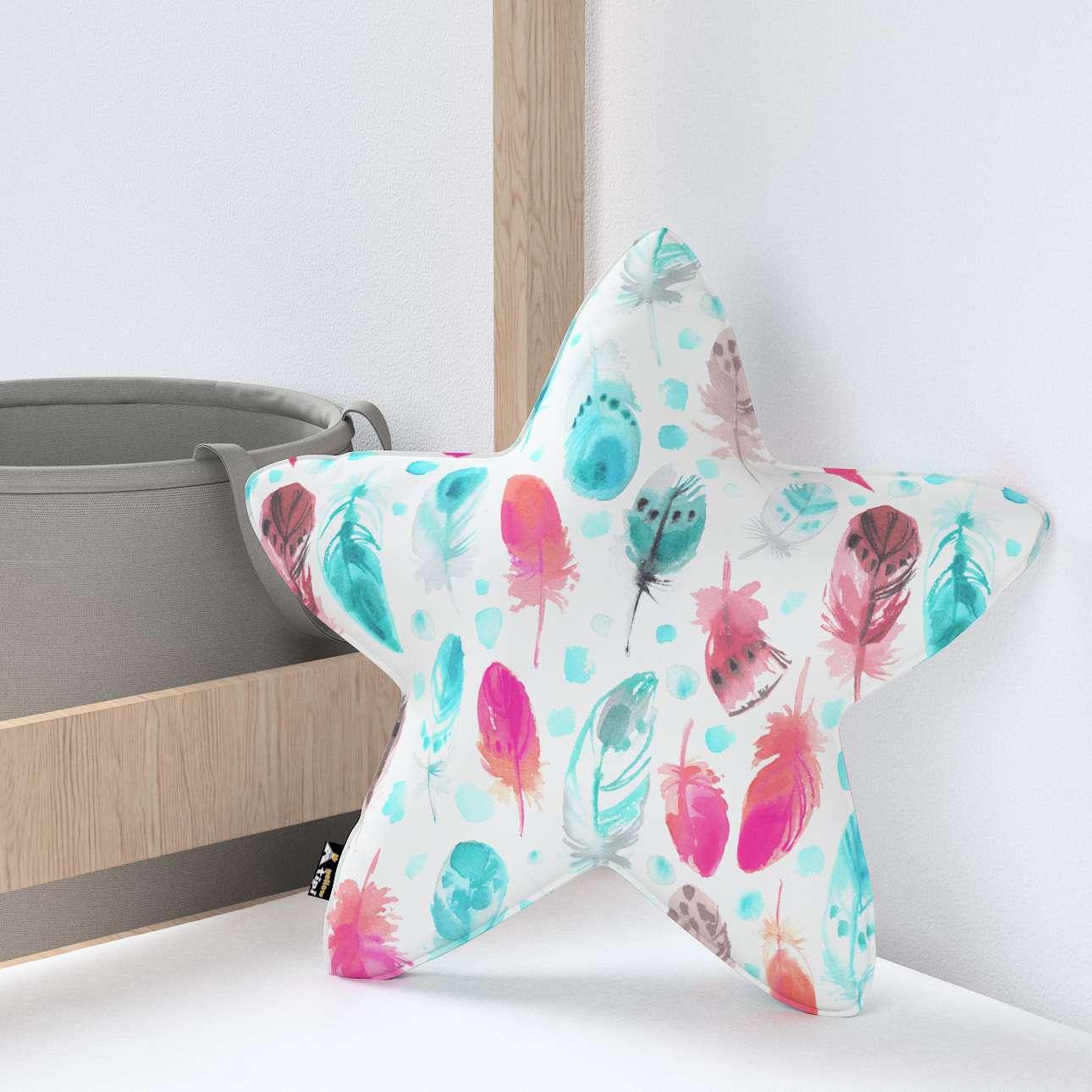 Kissen Lucky Star von der Kollektion Magic Collection, Stoff: 500-17