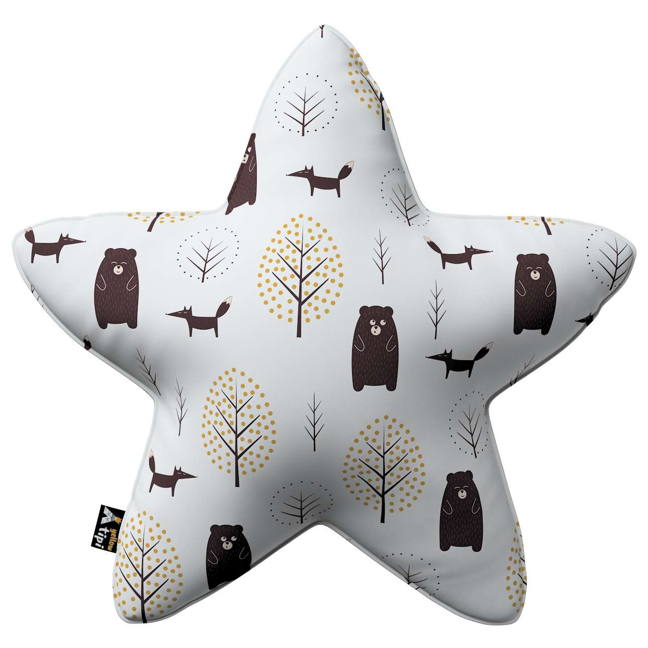 Kissen Lucky Star von der Kollektion Magic Collection, Stoff: 500-19