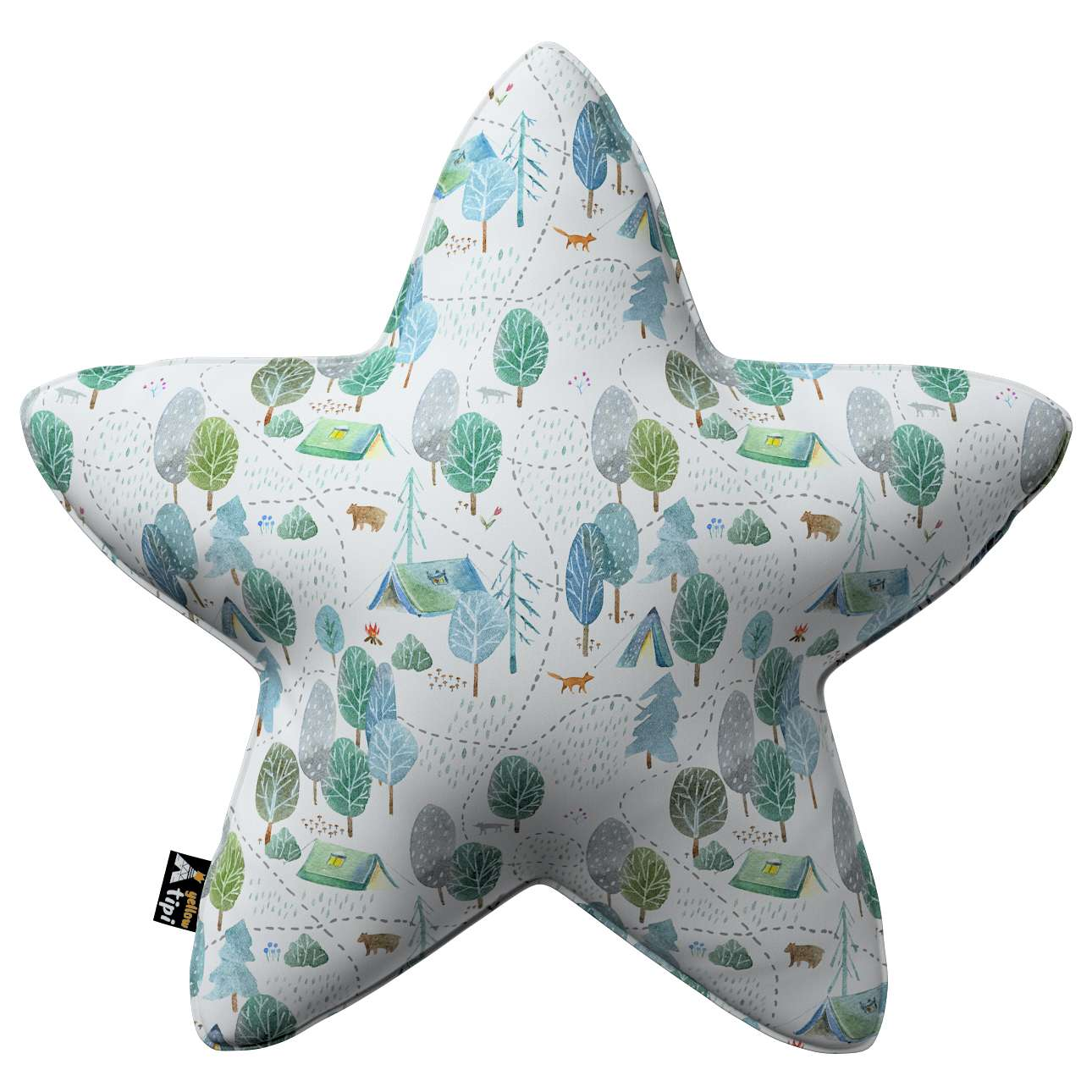 Lucky Star pillow in collection Magic Collection, fabric: 500-21