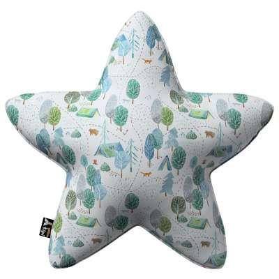 Kissen Lucky Star von der Kollektion Magic Collection, Stoff: 500-21
