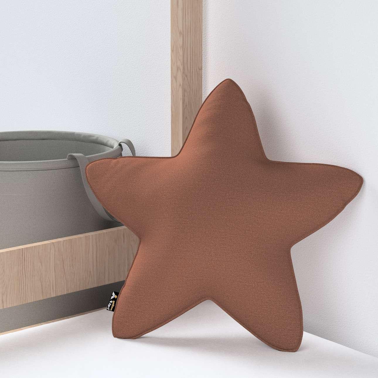 Kissen Lucky Star von der Kollektion Happiness, Stoff: 133-09