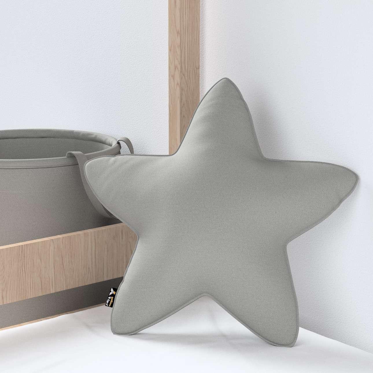 Kissen Lucky Star von der Kollektion Happiness, Stoff: 133-24
