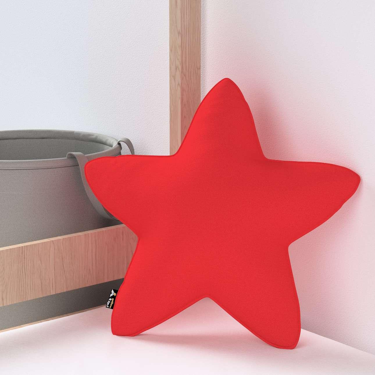 Kissen Lucky Star von der Kollektion Happiness, Stoff: 133-43