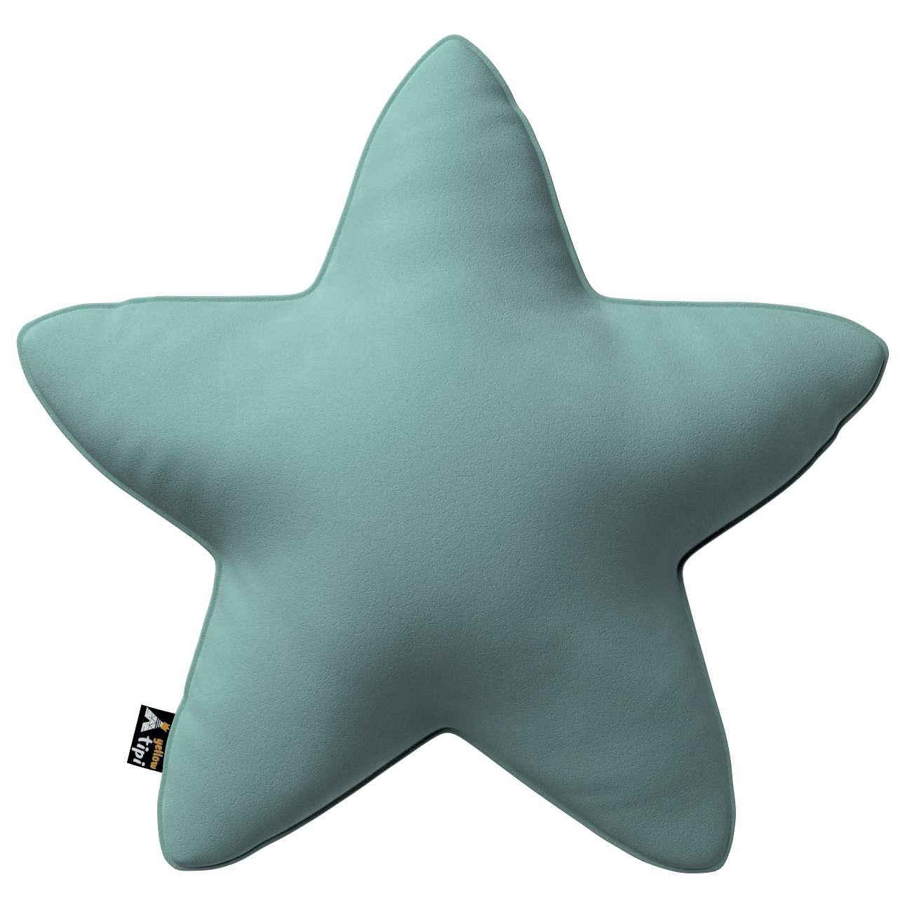 Poduszka Lucky Star w kolekcji Posh Velvet, tkanina: 704-18