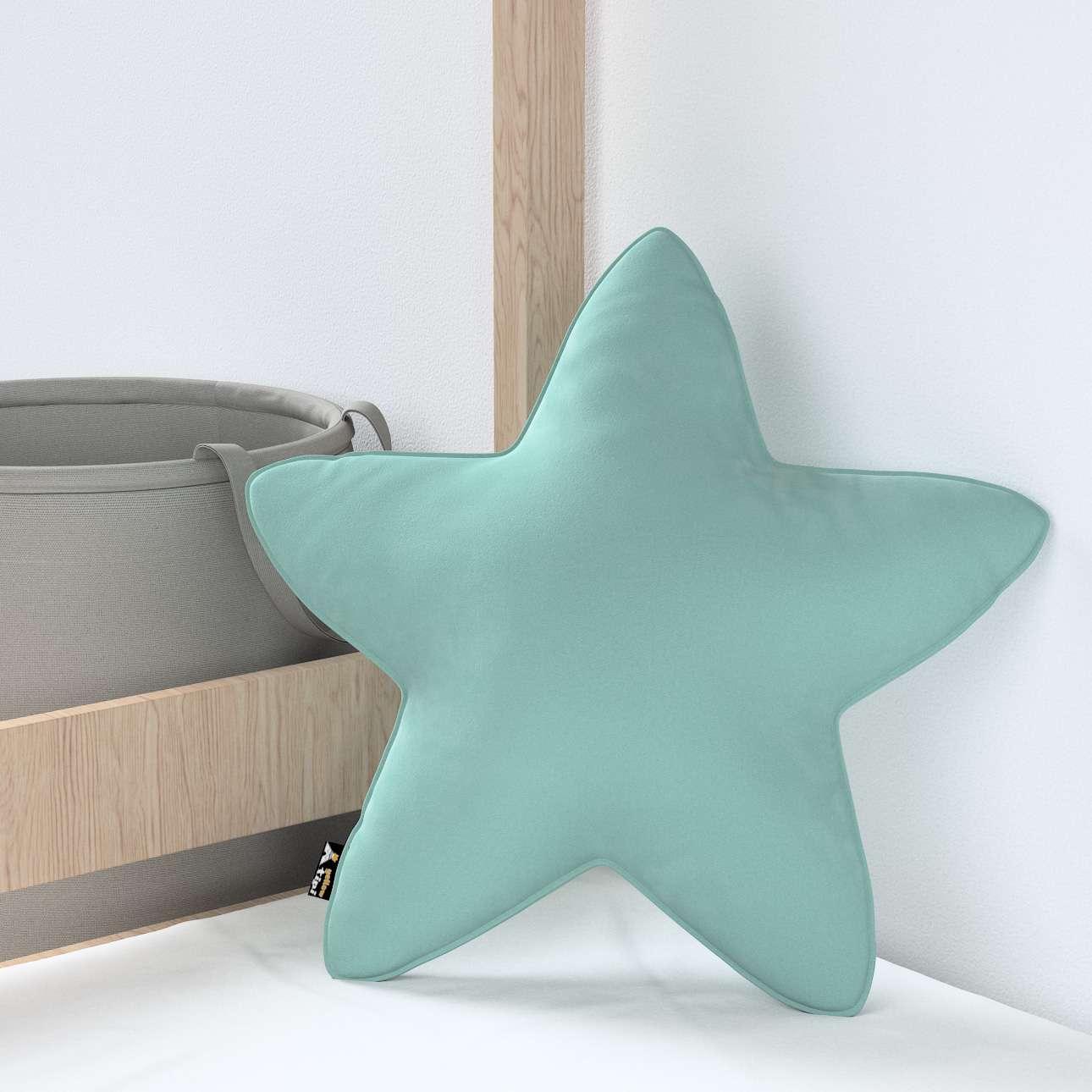 Lucky Star pagalvėlė kolekcijoje Posh Velvet, audinys: 704-18