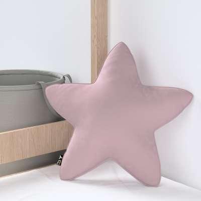 Kissen Lucky Star von der Kollektion Posh Velvet, Stoff: 704-14