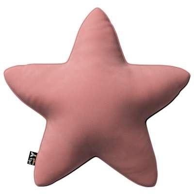 Kissen Lucky Star von der Kollektion Posh Velvet, Stoff: 704-30
